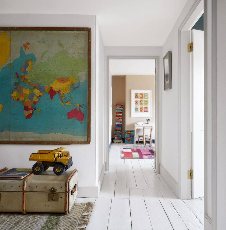 How To Redecorate Your Landing Area - From House Garden - Image By Paul Massey