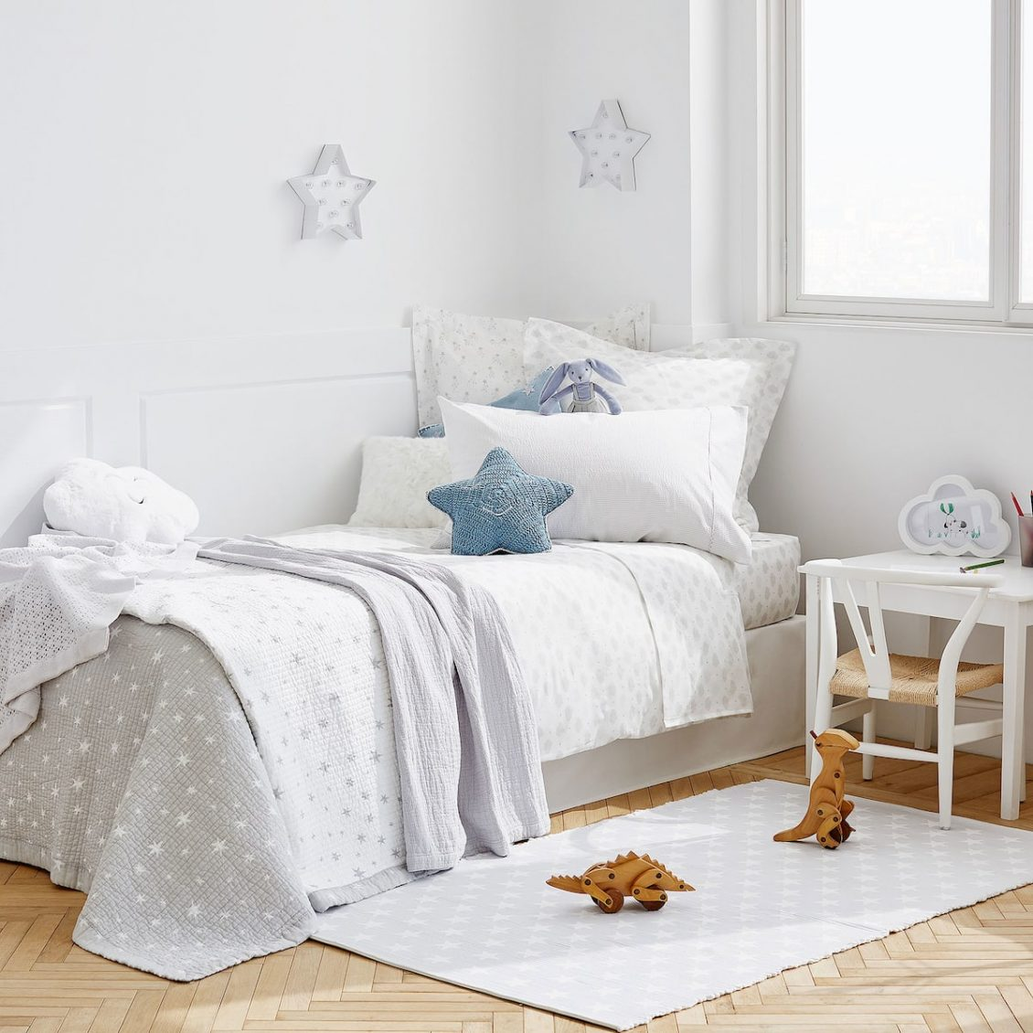 Grey Star Baby Nursery