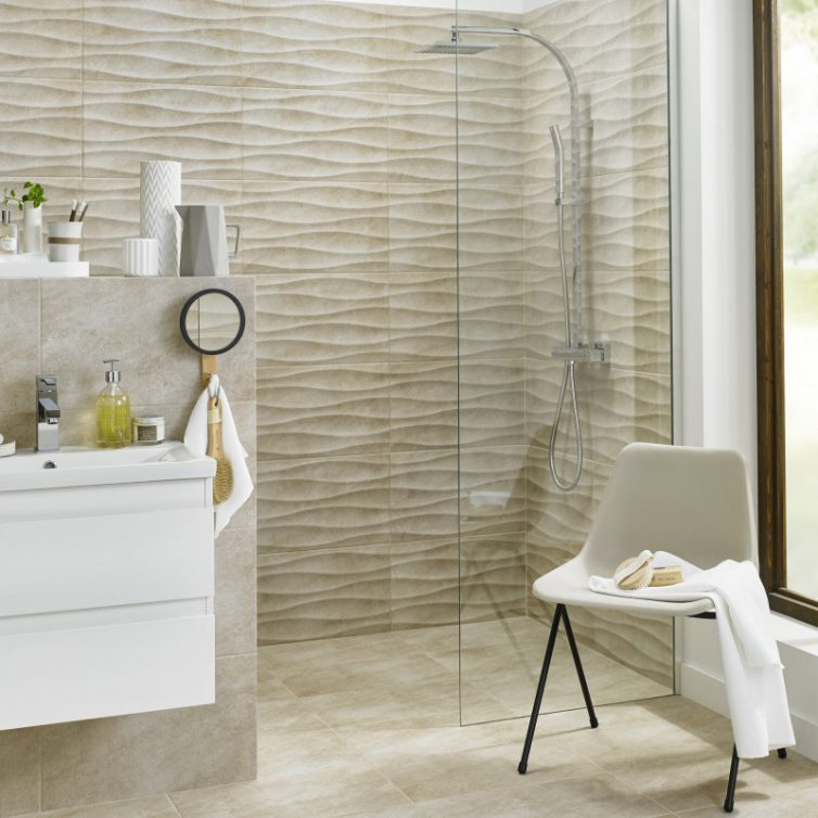 Wet Room Designs For Small Spaces - Image From BritishCeramicTile.com