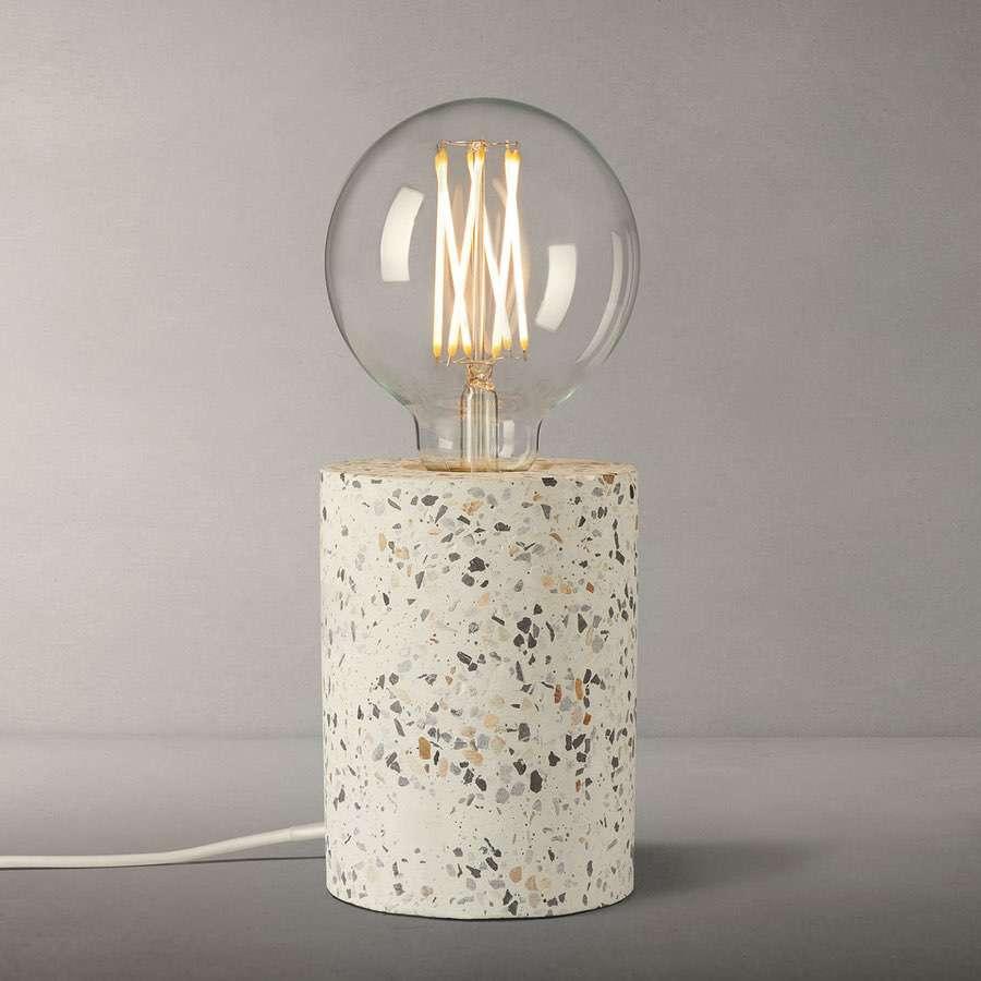 terazzo lamp