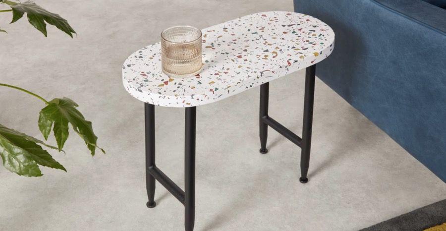 terrazzo table top