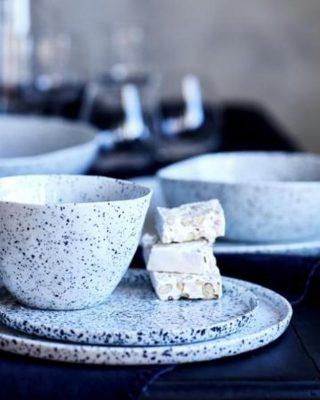 terrazzo dinner plates