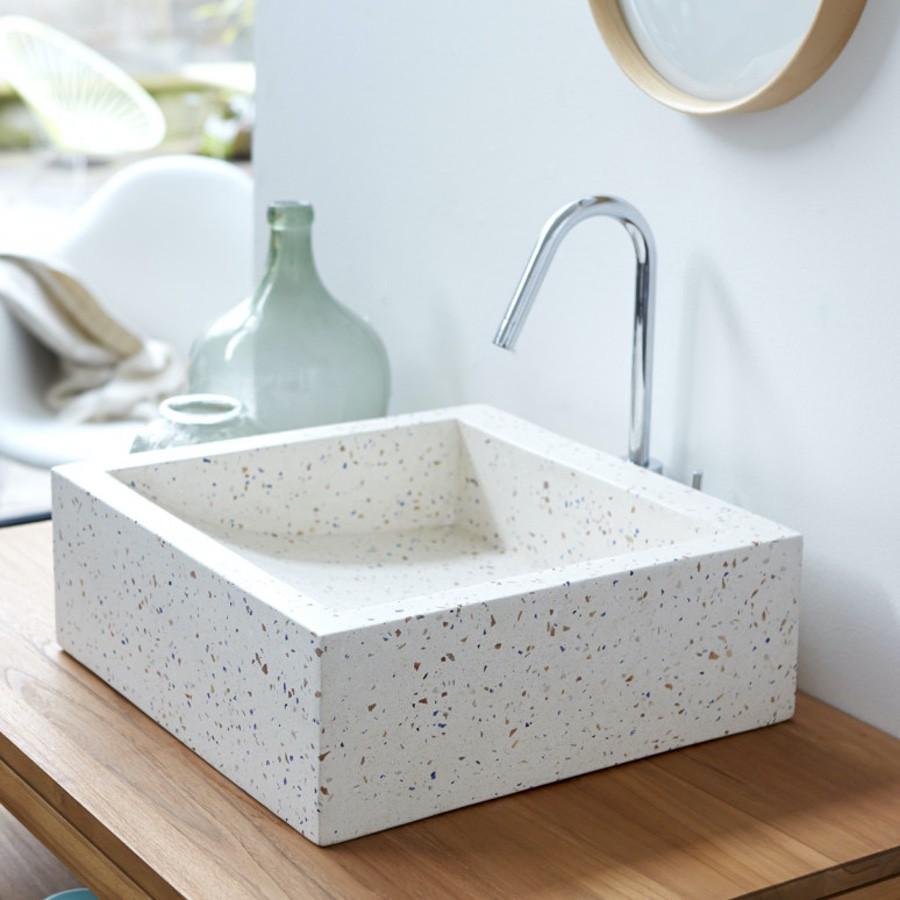 terazzo washbasin