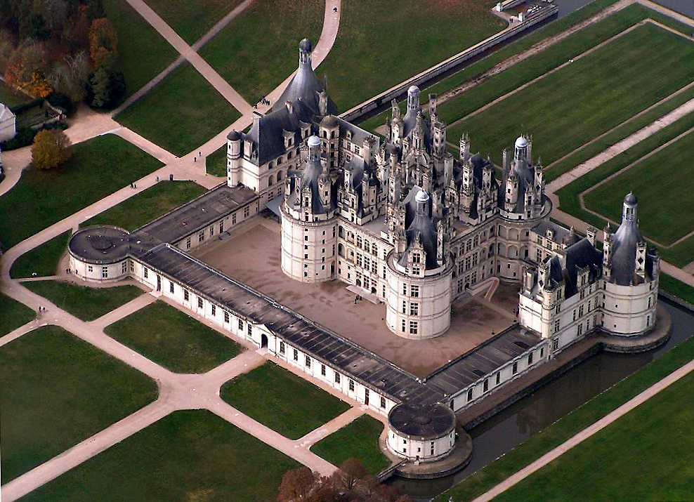 The Best Destinations To Find Tranquillity In Europe - Château de Chambord France