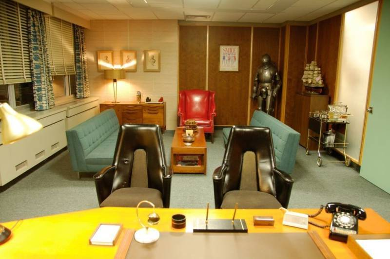 3 Ways That Mad Men Can Help Transform Your Home Office - Peggy's Office Mad Men Series