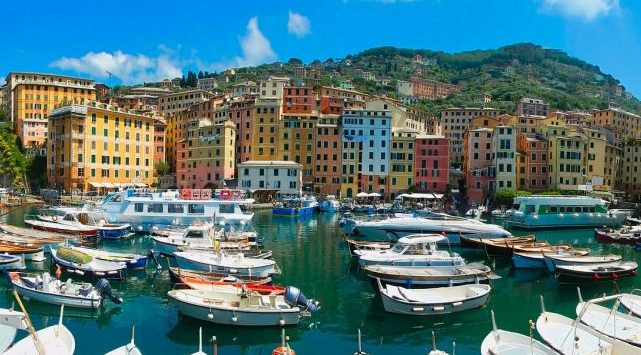 The Best Destinations To Find Tranquillity In Europe - Camogli, Italy