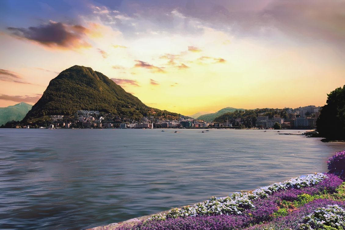 The Best Destinations To Find Tranquillity In Europe - Lake Ceresio Lugano, Switzerland