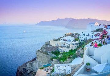 The Best Destinations To Find Tranquillity In Europe - Santorini, Greece