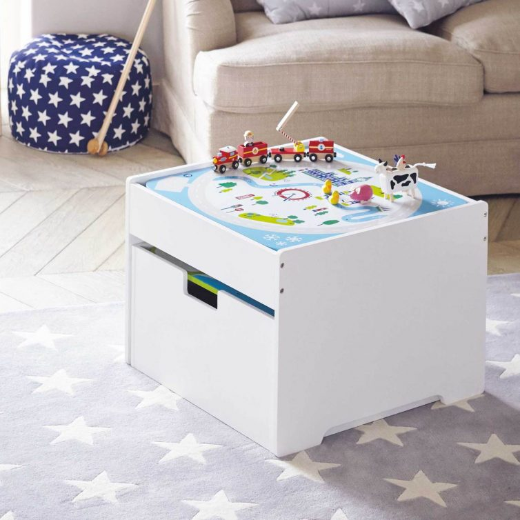 Space Saving Storage Solutions For Kids' Rooms - Image Via gltc.co.uk - Albion Pull Out Play Table