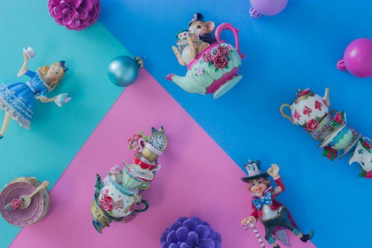 Alice in Wonderland Baubles