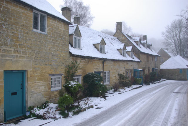 Everything You Need to Know About EPCs - A Row Of National Trust Cottages - Snow At Snow Hill