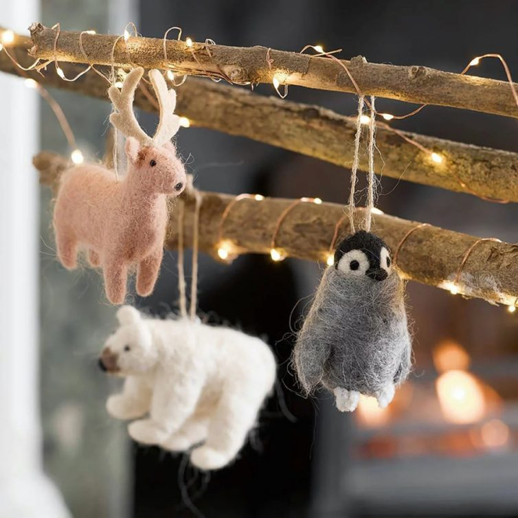 nordic felted animals
