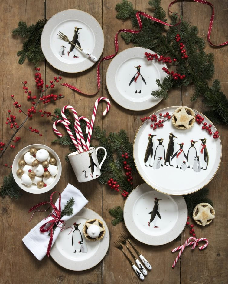 Penguin Plates