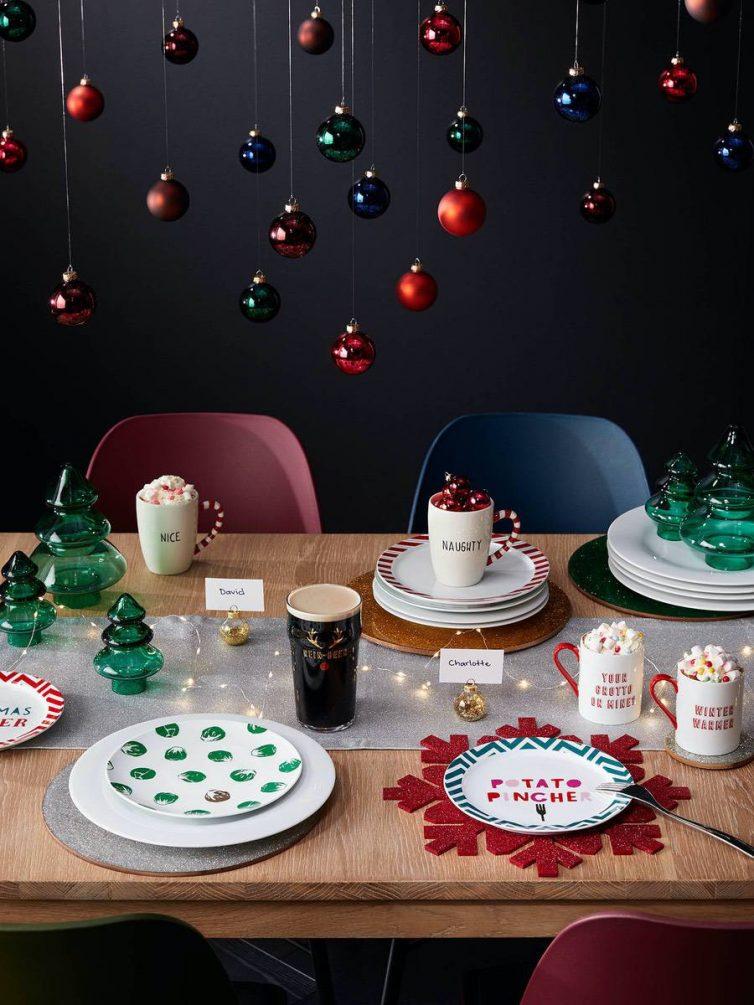 John Lewis Christmas Plates