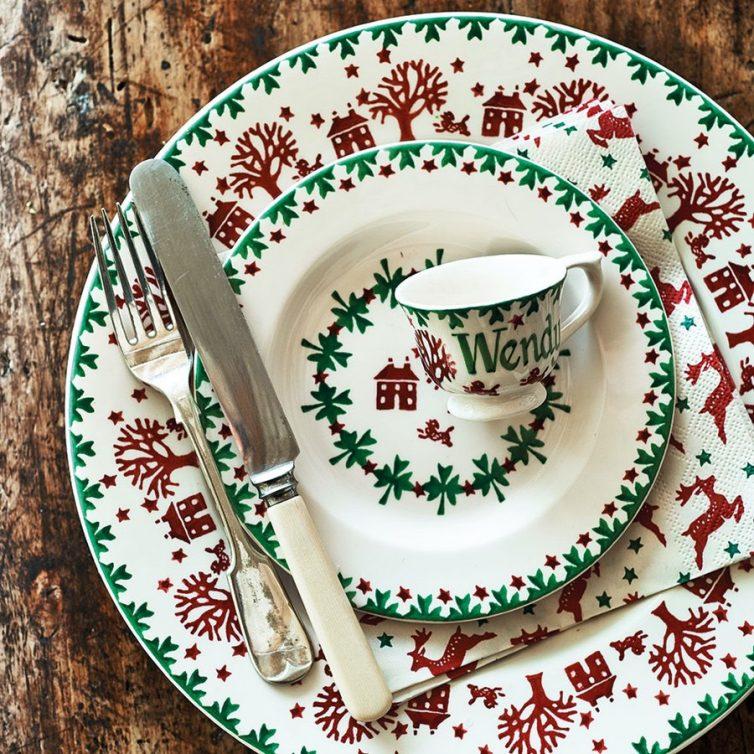 Emma Bridgewater Christmas Plates