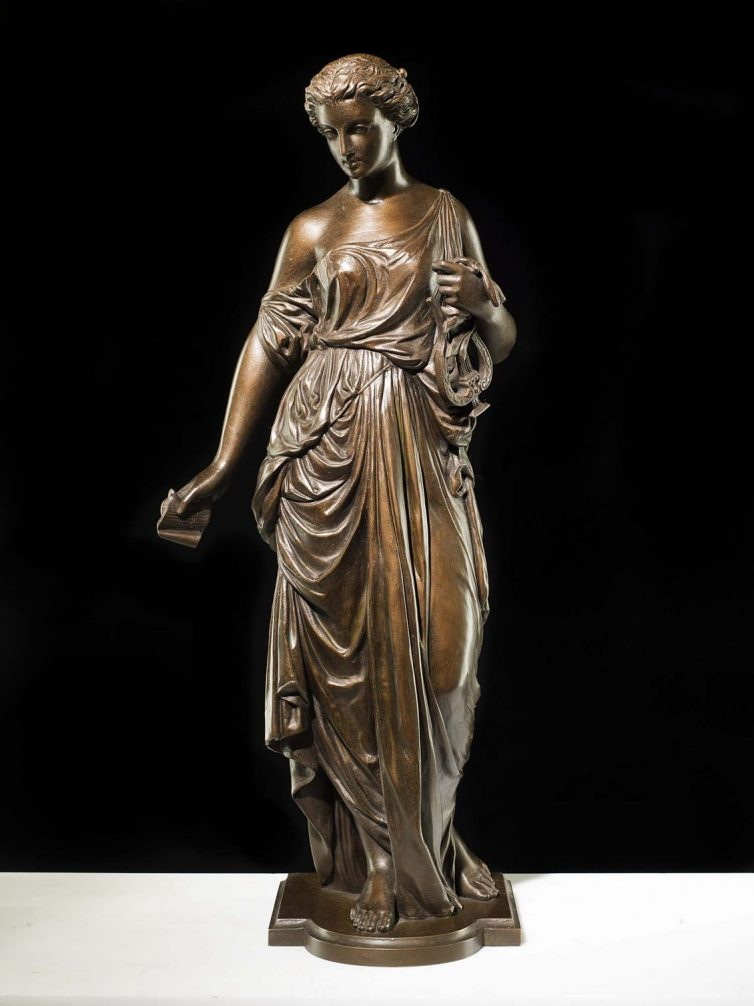 Your Guide To Feng Shui And Antiques - Image Via WestlandLondon.com - French Bronze Model.