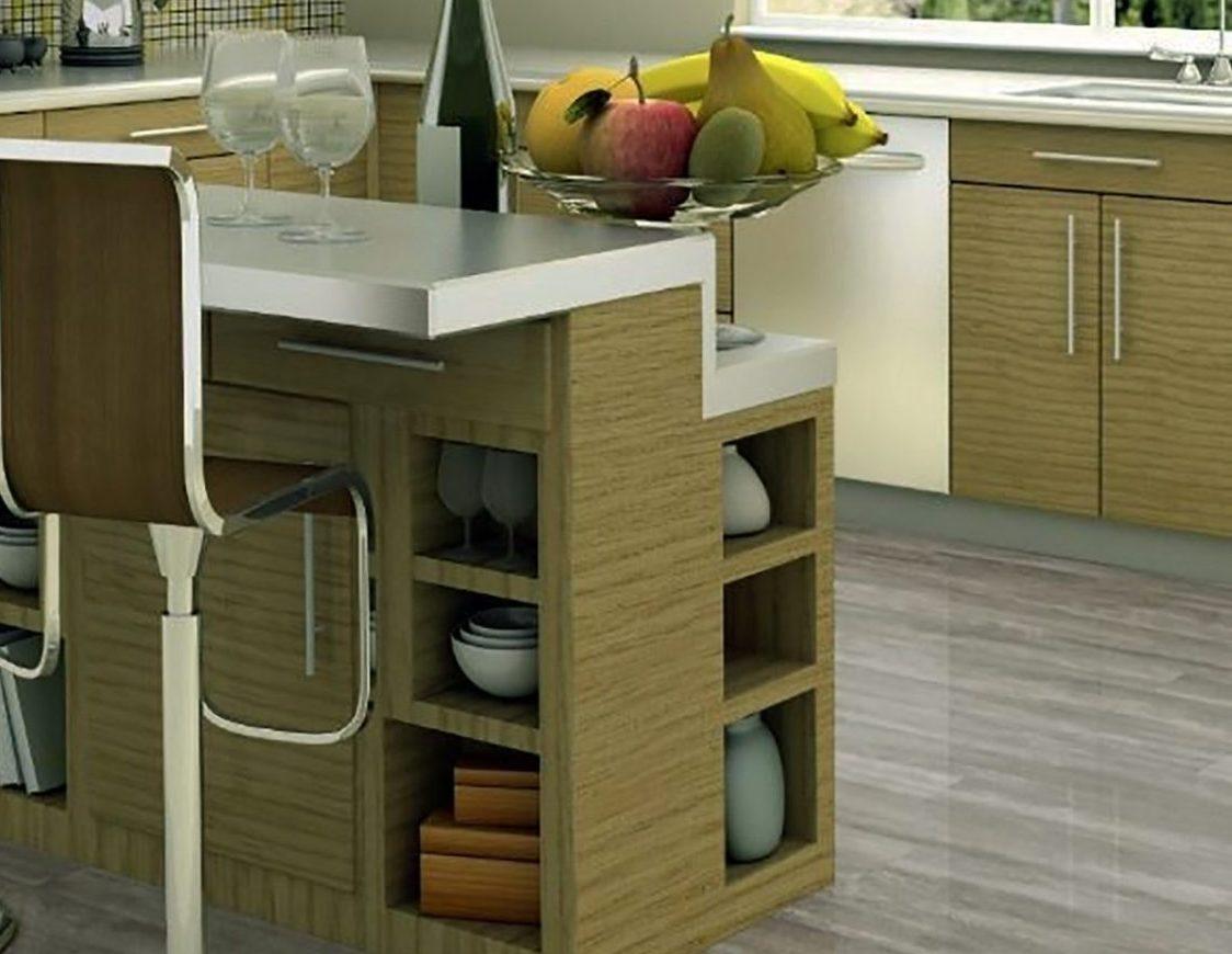 Design Ideas For Kitchen Floor Tiles - Oak Style Floor Tiles By Crown Tiles