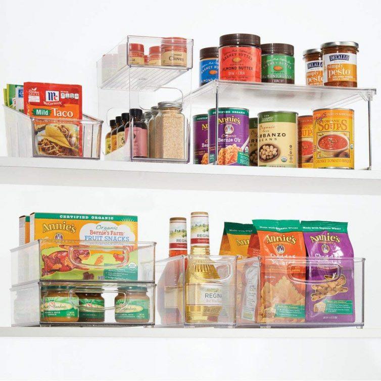 Cupboard shelf organiser