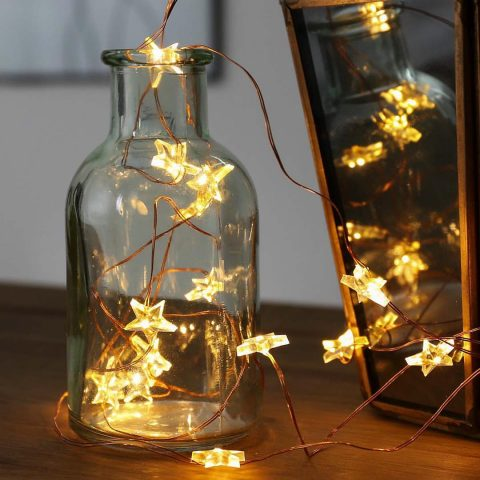 Lighting Design Trends To Look Out For This Year - Copper Micro Firefly Wire Lights - By festive-lights.com