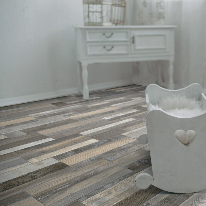 Bring The Outdoors Indoors With Natural-Finish Tiles - Wood Effect Tiles - Image From CrownTiles.co.uk