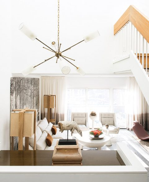 Lighting Design Trends To Look Out For This Year - Image From houseandhome.com - Sputnik Style Chandeliers