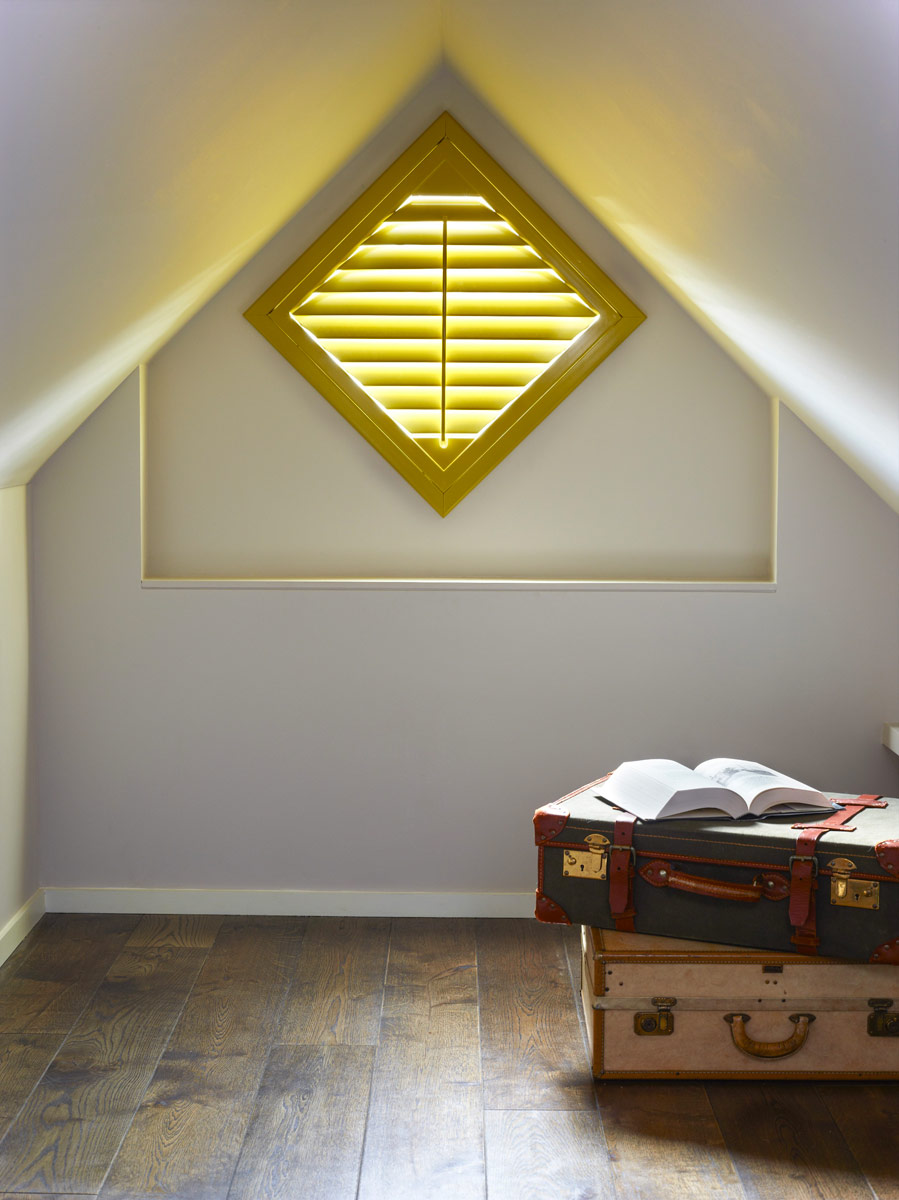 Shutters Breathe Life Into Odd Shaped Windows - Image Via CheapShutters.co.uk