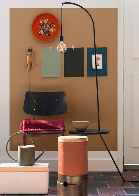 Lighting Design Trends To Look Out For This Year - Image From Dulux - Spiced Honey Colour Of The Year 2019