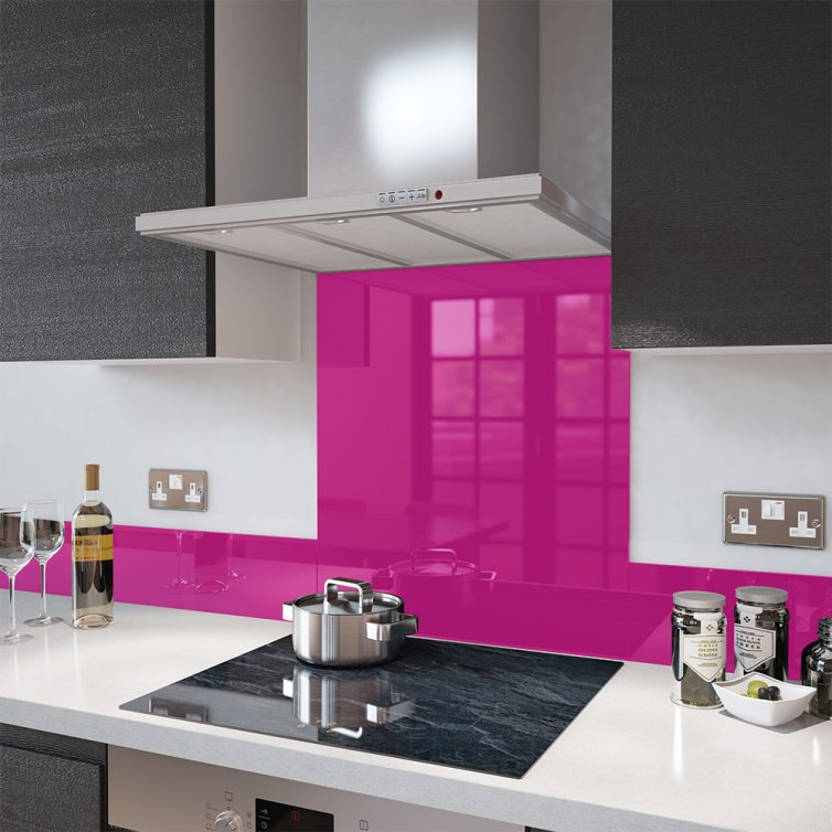 pink splashback tiles from premierrange.co.uk