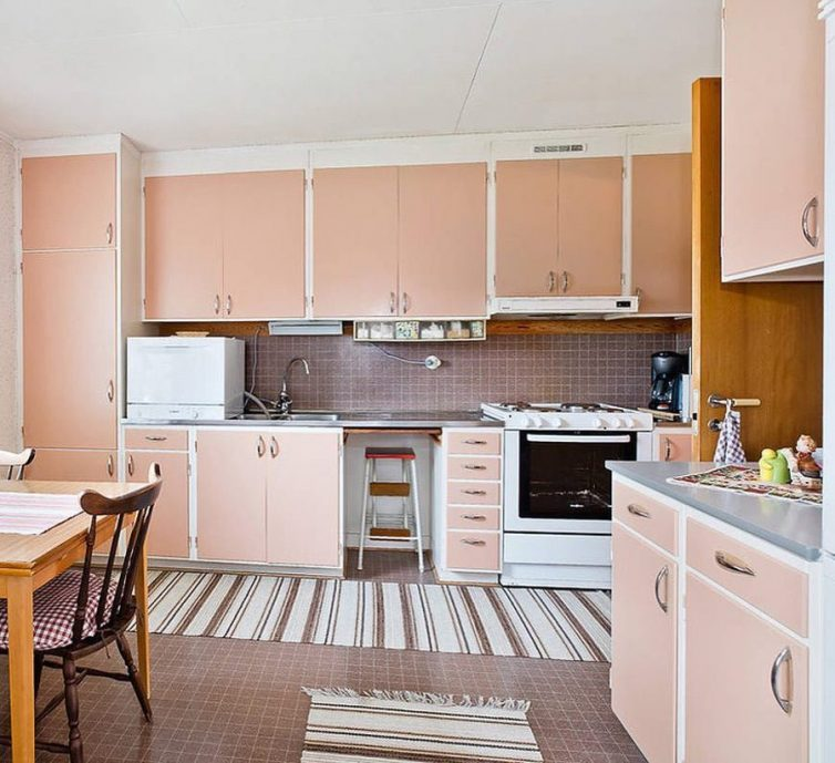 Inspiration: Pink Kitchen Decorating Ideas