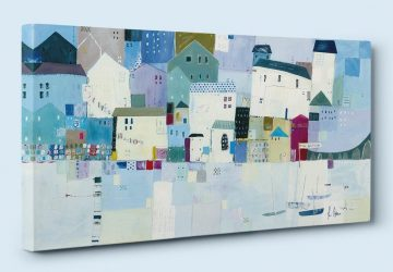 How To Style Canvas Art In Your Home - St Ives Canvas By Liz And Kate Pope