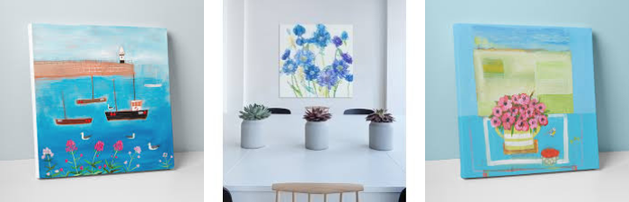 How To Style Canvas Art In Your Home