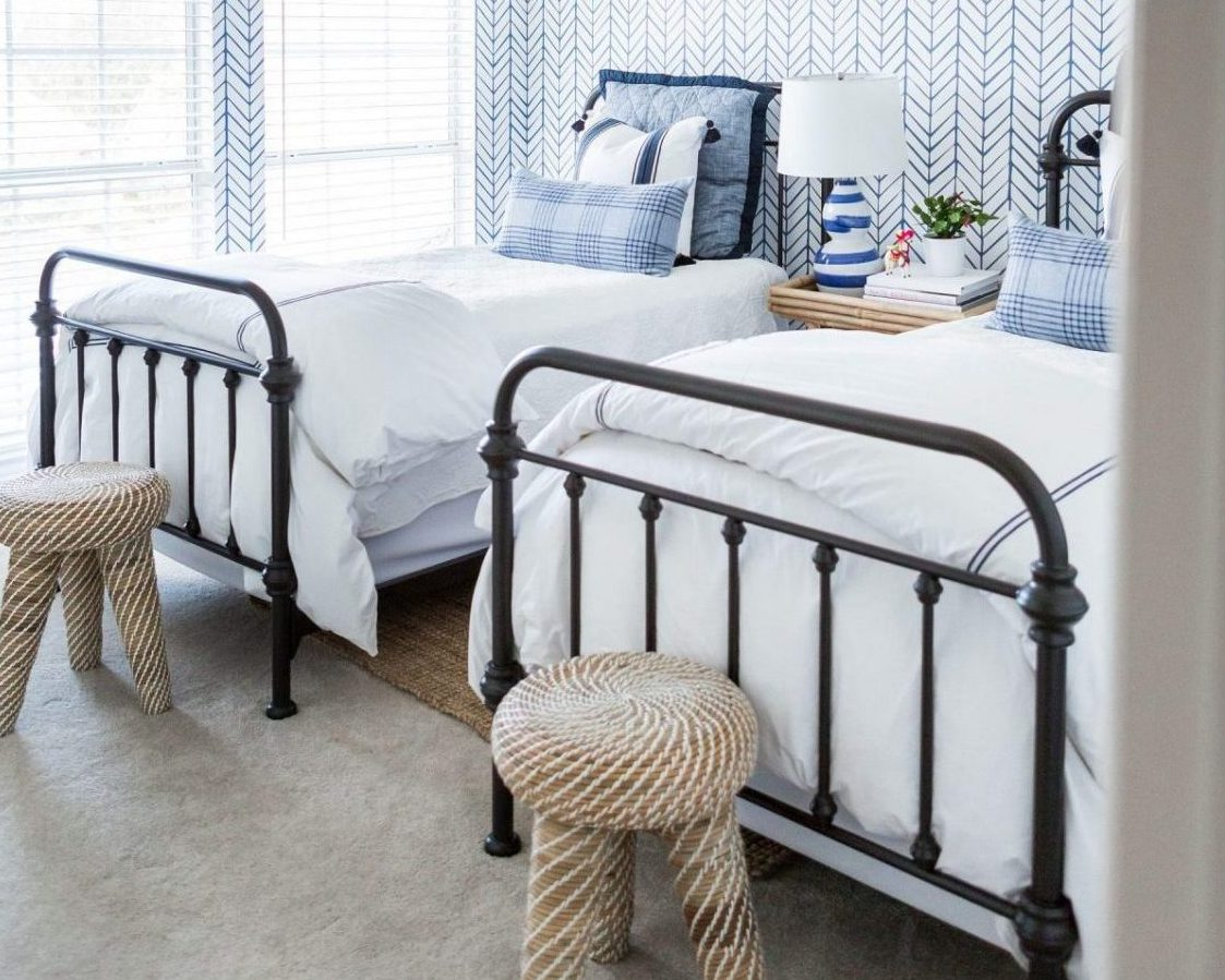 8 Tips: Designing A Room With Twin Beds - Catalina Bed - Image Via HiSugarPlum.com