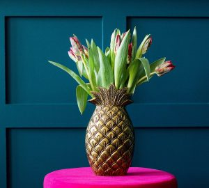 Quirky Vases And Pretty Planters - Handmade Brass Pineapple Vase - Audenza.com