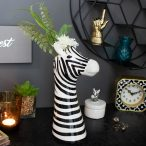 Quirky Vases And Pretty Planters - Zebra Head Vase - MelodyMaison.co.uk