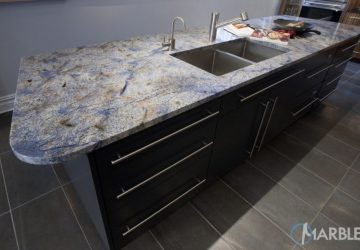 Countertop Estimator; Crucial To Making The Right Countertop Choice - Blue Bahia Granite - Image Via Marble.com