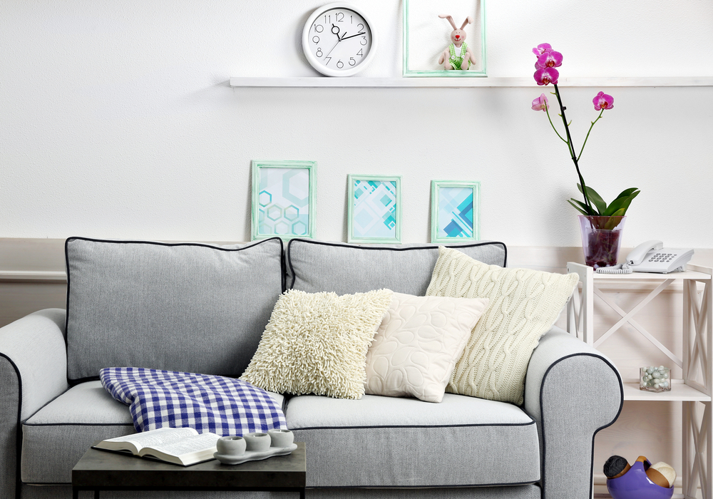 5 Ways To Add A Splash Of Colour To Your Living Room - Image Via Terrys Fabrics