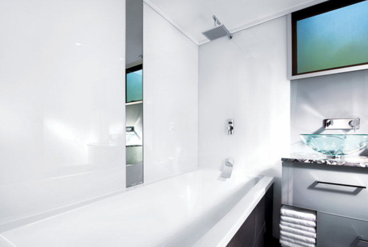 Swapping Tiling For Plastic Cladding In Your Bathroom - Image Via PlasticSheetsShop.co.uk