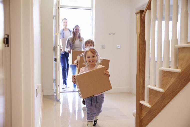 Moving, Boxes, Family