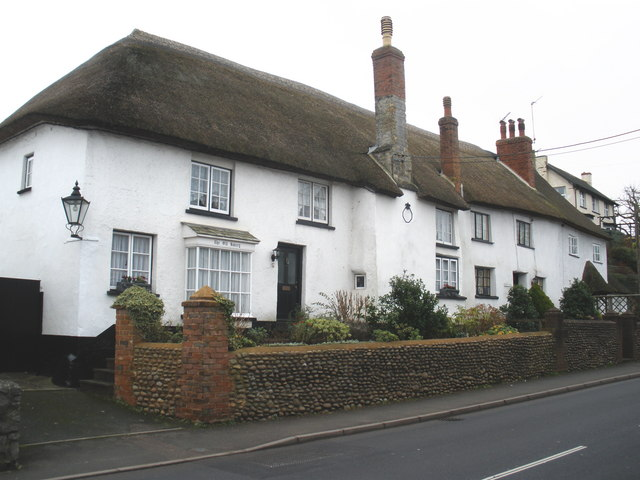 5 Period Property Problems To Keep In Mind - The Old Bakery, Newton Poppleford - Image Via Geography.org.uk