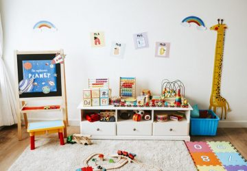 Making Space For A Kid's Play Area Inside A Small Home