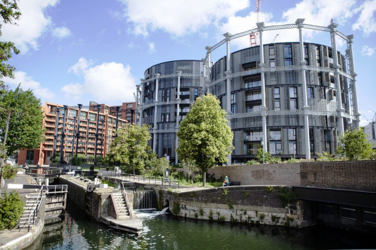 Gasholders Apartments, King's Cross London