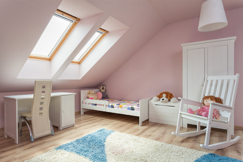 Attic Office, Loft Covertion Childs Bedroom