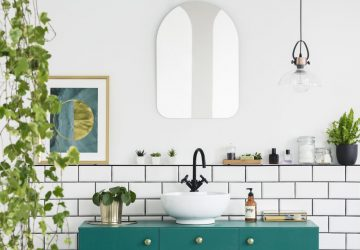How To Make Your Bathroom More Eco-Friendly - Bathroom, Plants.