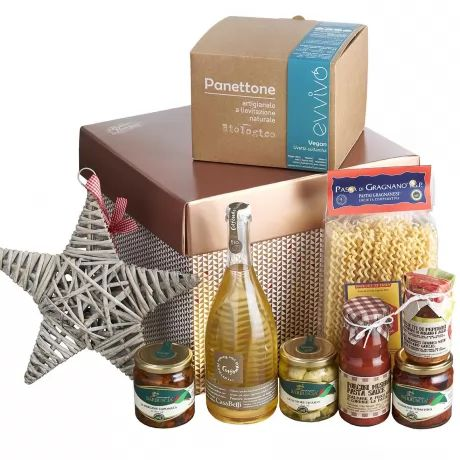 Vegan Christmas Lunch and Organic Prosecco by Vorrei Italian Hampers