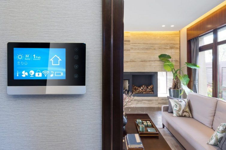 Smart Home - Lounge Control Pad
