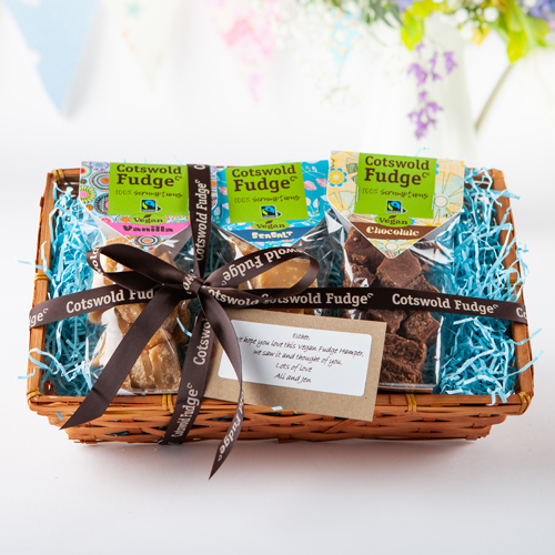 Vegan Fudge Hamper - By Cotswold Fudge