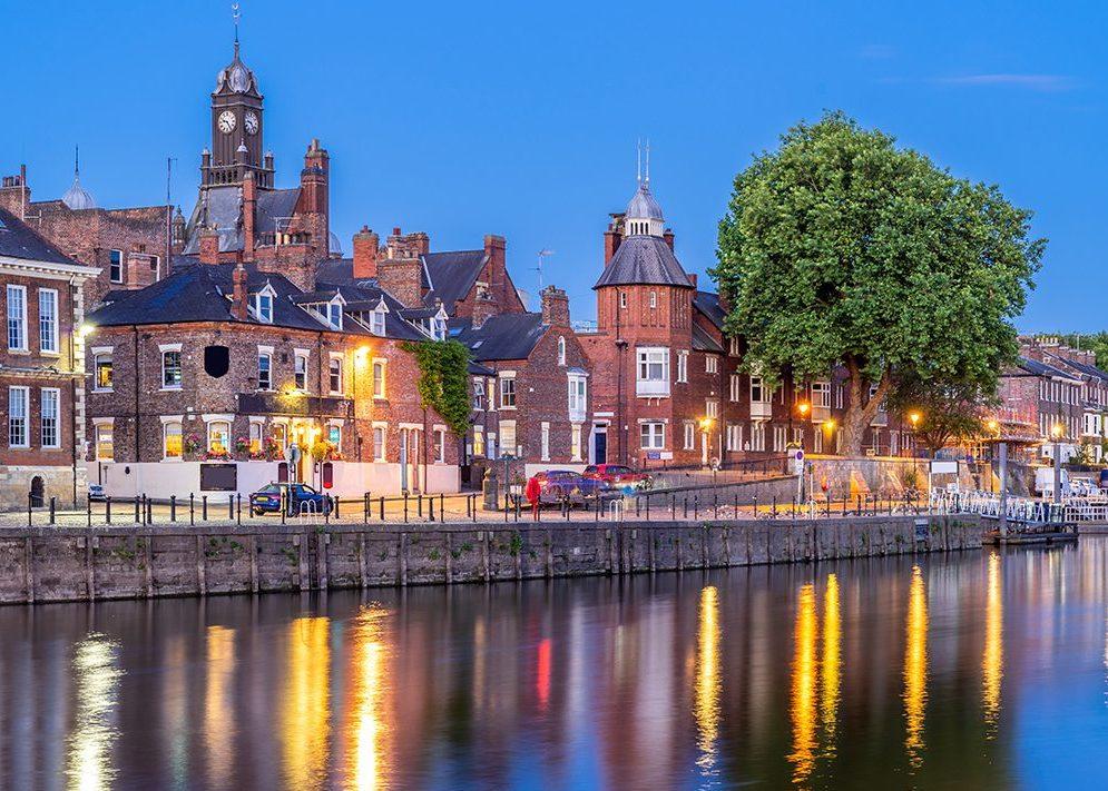 River Ouse, York England