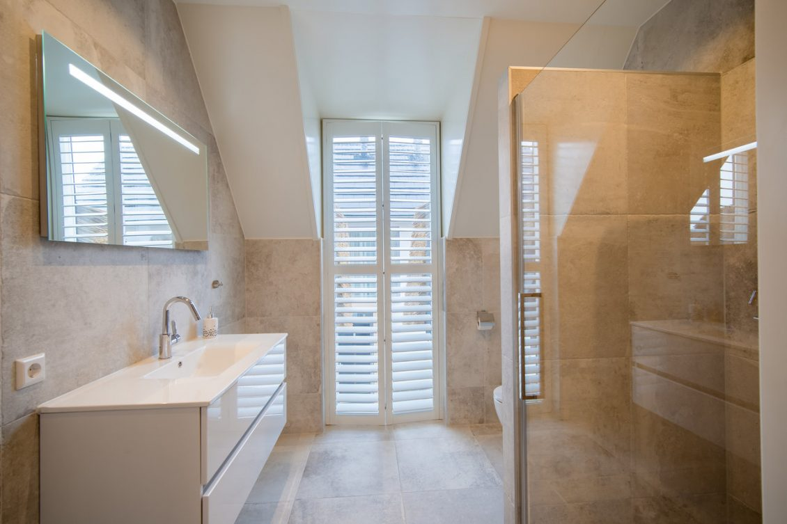 Shower Room With Window Shutters