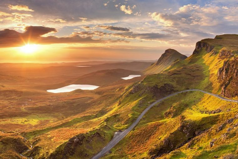 Sunrise at Quiraing, Isle of Skye, Scotland