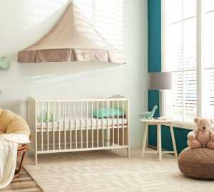 Cute nursery interior